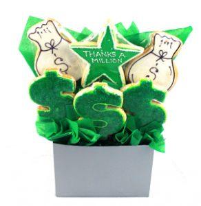 Thanks A Million Cookie Bouquet