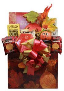 Thanksgiving Harvest Gift Basket