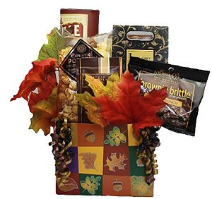 Autumn Snack Gift Basket