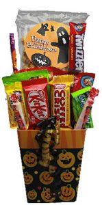 Happy Halloween Treats Gift Basket