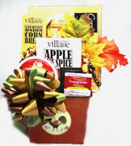 Thanksgiving Wishes Gift Basket