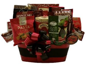Santa's Bounty Gift Basket