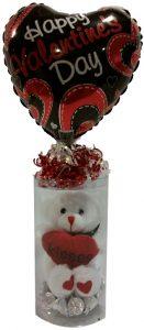 Valentine Teddy Tub Gift Ensemble