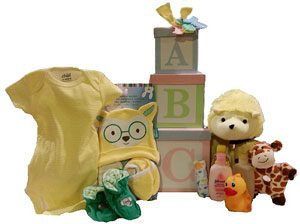 All About Baby Gift Tower