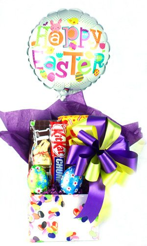 Chocolate Easter Gift Basket