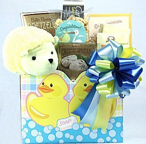 Snack Baby Gift Basket