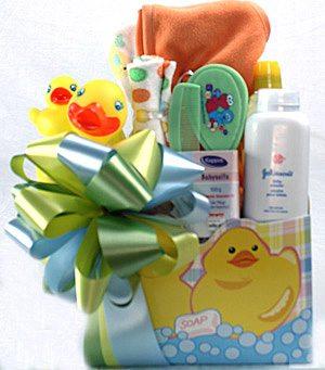 Baby Bath Gift Basket