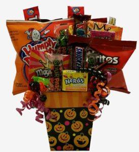 Halloween Goodies Gift Basket