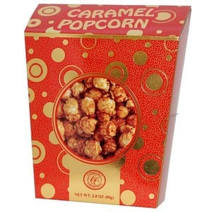 Comfort Collection Caramel Popcorn Red 80g-2.8oz