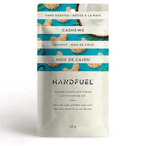 Handfuel Toasted Coconut Cashews 40g