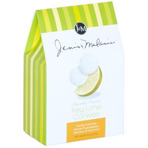 J&M KeyLime Tea Cookies 71g-2.75oz