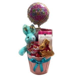 Lindt and Godiva Easter Basket
