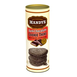 Mandy's Dark Chocolate Cookie Thins 4.6 oz-130g