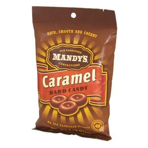 Mandy's Old Fashioned Hard Candy - Caramel 142g-5 oz