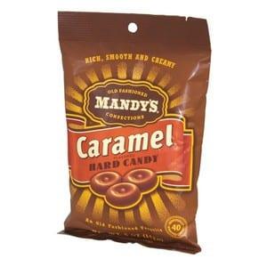 Mandy's Old Fashioned Hard Candy - Caramel 142g-5 oz