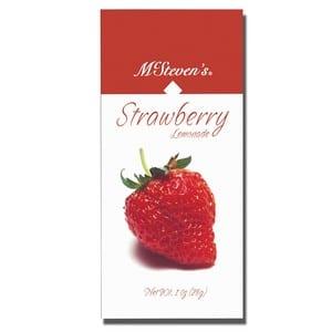 McSteven's Strawberry Lemonade Drink Mix 28g -1oz