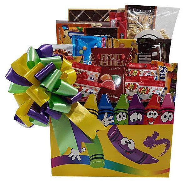Rainbow Of Flavor Child Gift Basket