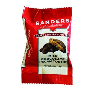 Sanders Favorites Collection Milk Chocolate Pecan Tortie 14g-0.5 oz