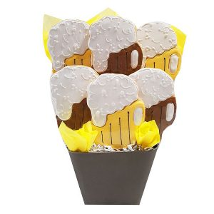 Sweet Brew Beer Cookie Bouquet