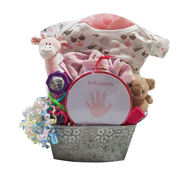 Time For Baby Gift Basket
