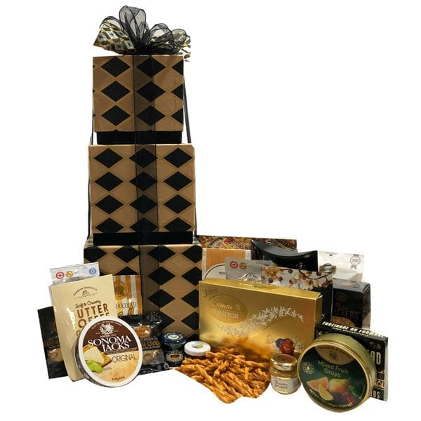 Black Diamond Gourmet Gift Tower