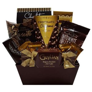 Chocolatey Goodness Gift Basket