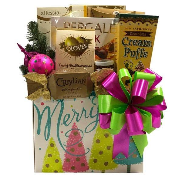 Christmas Sparkle Gift Basket