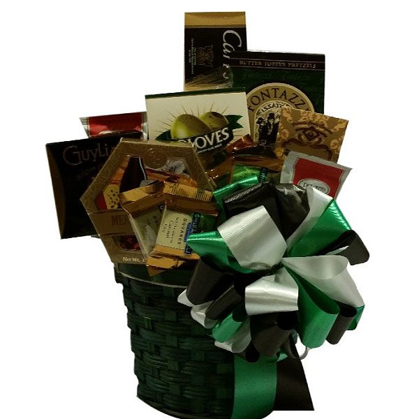 Evergreen Gift Basket