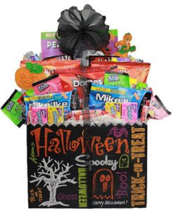 Family Halloween Gift Basket