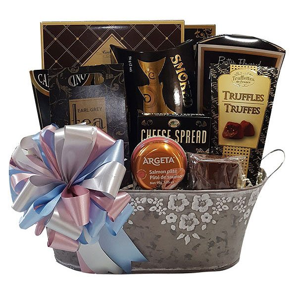 Floral Abundance Gift Basket