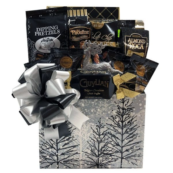Frosted Forest Christmas Gift Basket