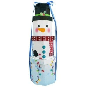 Frosty Snowman Gift Tower