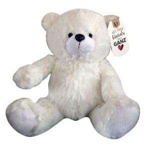 ganz-8-inch-white-bear