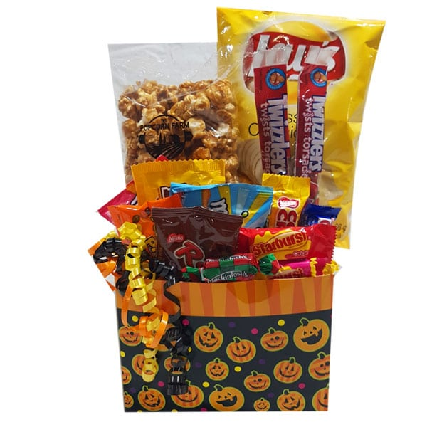 Halloween Gift Basket Ideas For Adults.Halloween Candy And Sweets