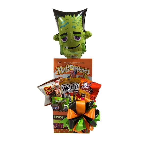 Halloween Chocolates and Treats Gift Basket