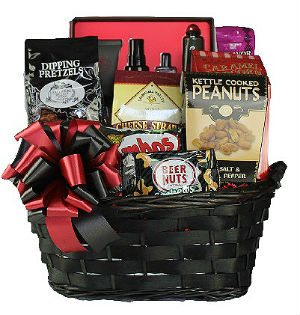 Men's Spa Gift Basket
