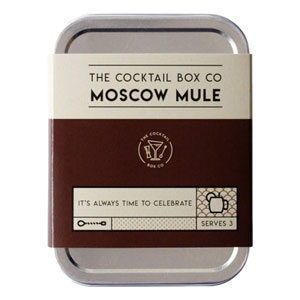Moscow Mule Cocktail kit provides the premium ingredients needed to prepare 3 perfectly tasting cocktails (alcohol not included with kit). Can be prepared as Mocktail.