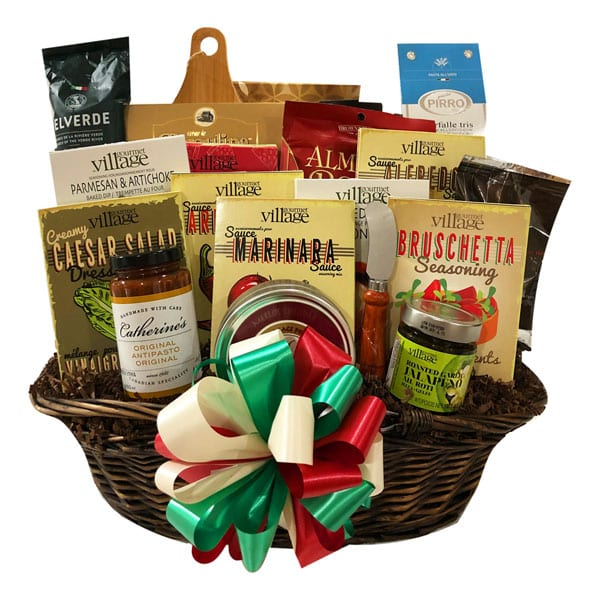 Pasta Perfection-a collection of pastas, sauces, dips, mixes, desserts, chocolates, cheese, cookies, antipasto