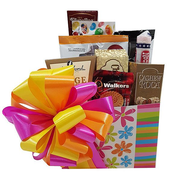 Pretty and Sweet Gift Basket