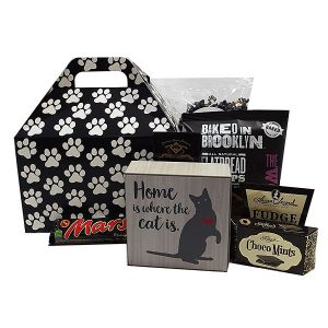 Purrfect Cat Lover Gift Basket