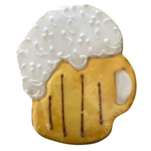 sugar-cookie-beer-mug-hand-decorated-yellow