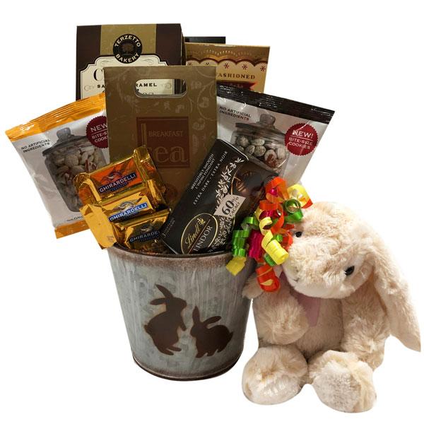 The Happy Bunny Gift Basket