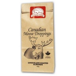 Canada True Canadian Moose Droppings - Choc. Covered Almonds 100g