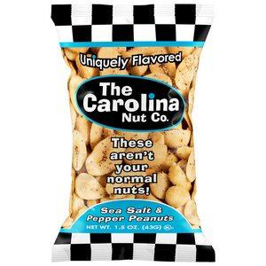 Carolina Nut Co. Sea Salt & Pepper Bag 43g-1.5 oz