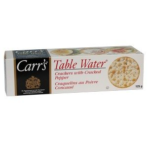 Carr's Crackers - Cracked Pepper White 125g-4.25oz