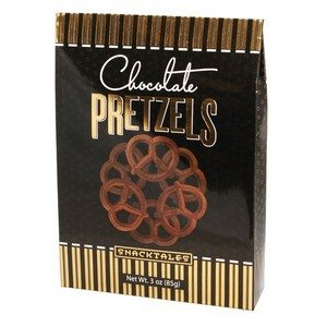 Chocolate Pretzels - Black 85g-3 oz