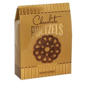 Chocolate Pretzels - Gold 85g-3 oz