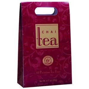 Comfort Collection Chai Tea Burgundy 10 bags