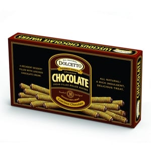Dolcetto Wafer Rolls Chocolate 125g-4.4oz