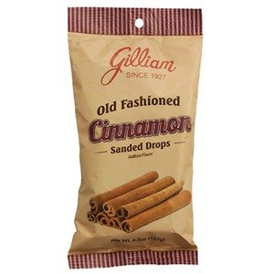 Gilliam Old Fashioned Cinnamon Drops 127g-4.5oz